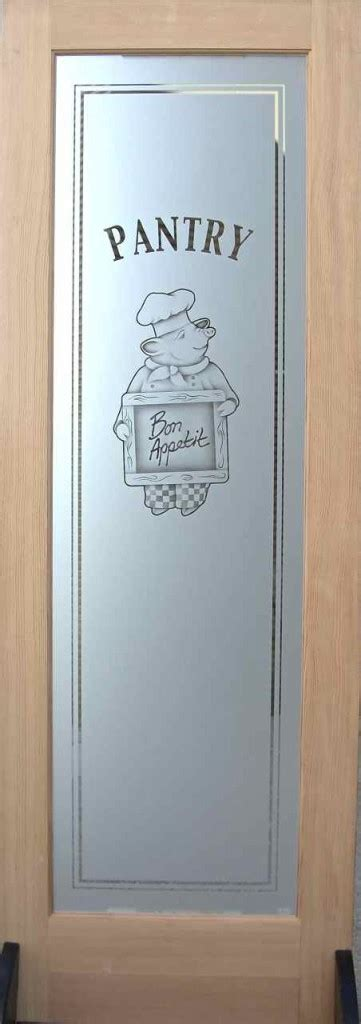 Etched Glass Pantry Doors Multi Stage Sandblasting Sans Etched Glass Pantry Doors Kitchen