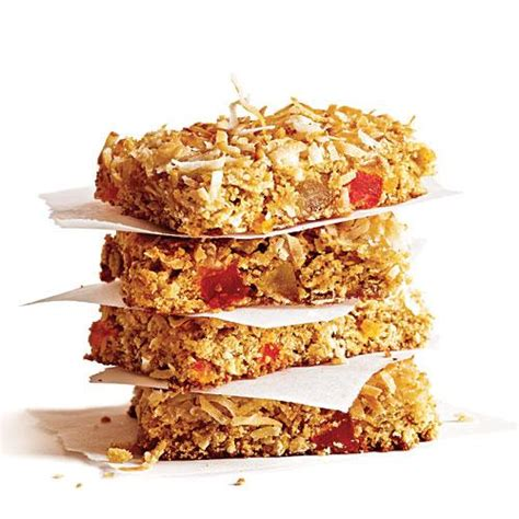 Healthy Snack Jigsaw Bars by Chewy Coconut Granola Bars Healthy Snack Recipes