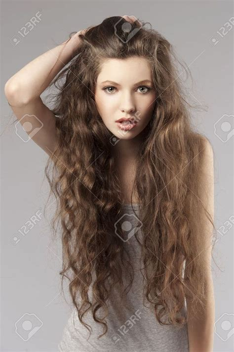 hairstyles curly brown cute hairstyles for long curly brown hair 35267087 cute