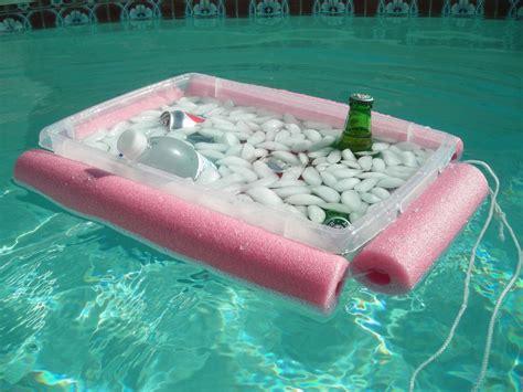 diy floating cooler the 1 99 noodley beverage boat beverages coolers and