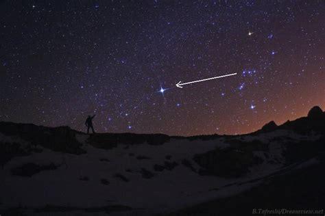 la estrella ms brillante la estrella mas brillante como localizarla