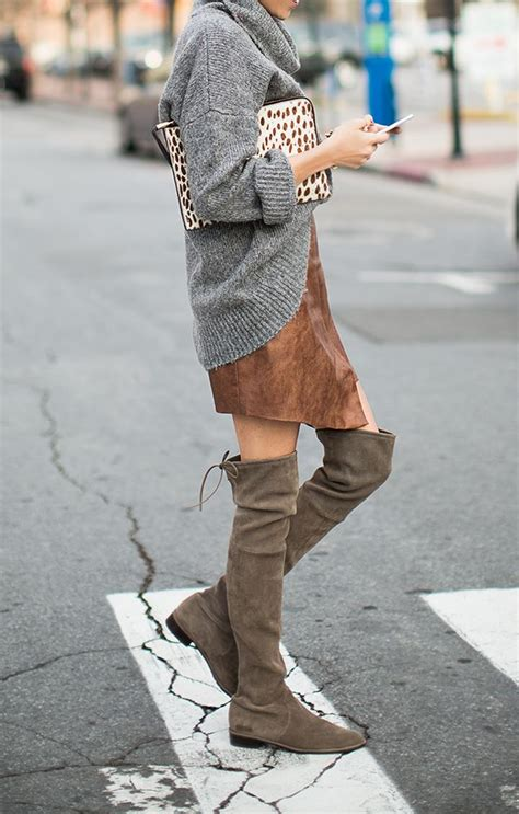 19 ways to wear your knee high boots pretty designs