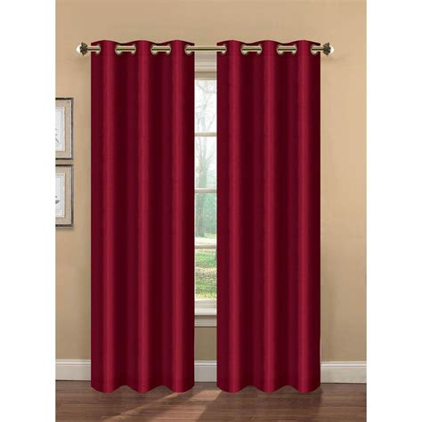 bella luna curtains bella luna semi opaque camilla faux silk 84 in l room