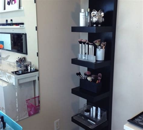 Shelf For Makeup by Makeup Storage Hacks To Make Your Collection Organized And