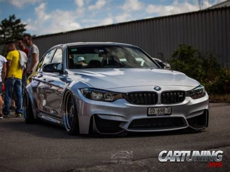 bmw m3 stanced stanced bmw m3 f80 187 cartuning best car tuning photos