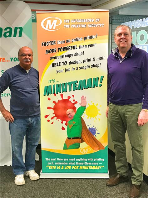 Minuteman Detox by Minuteman Press In Conway New Hshire Celebrates