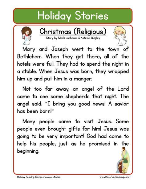 grade 2 reading comprehension christmas worksheets teaching
