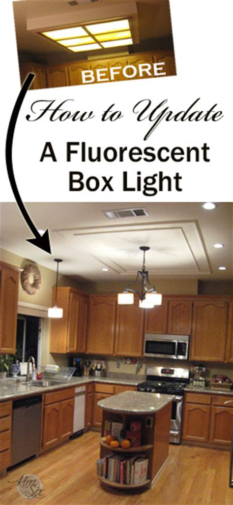 how to update a fluorescent kitchen box light jpg