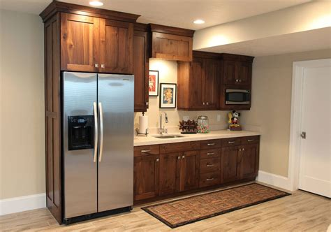 Basement Kitchen Designs 45 Basement Kitchenette Ideas To Help You Entertain In Style Home Remodeling Contractors