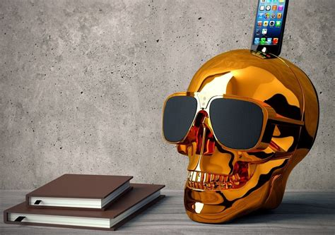 coolest speakers cool aeroskull hd speaker
