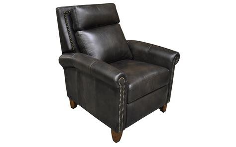 push back leather recliner benjamin push back recliner omnia leather