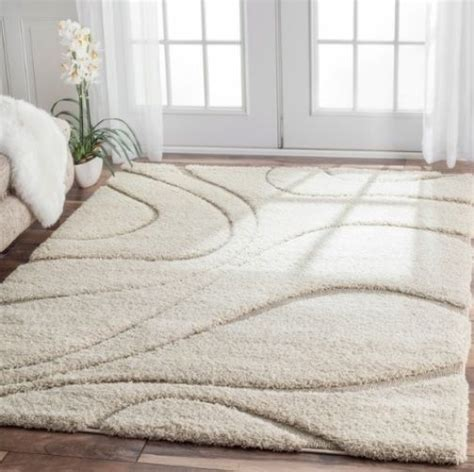 5 x 6 area rugs ivory white beige shag area rug rugs 4 x 6 8 10 5 4 5 6 7 8 9 10 ebay