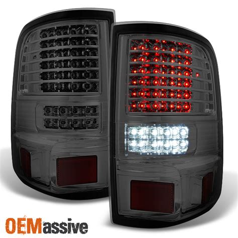 2005 f150 tail lights 2004 2005 2006 2007 2008 ford f150 full led smoked tail