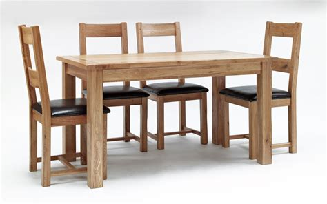 rustic oak dining table hshire furniture