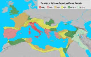 The roman republic and the roman empire between 218 bc and 117 ad png