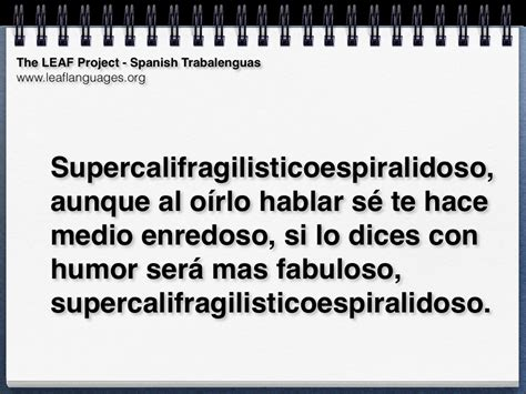 las trabalenguas spanish tongue twisters with s sounds