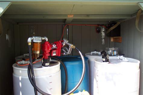 tutorial tank drum biodiesel dispensing station collaborative biodiesel