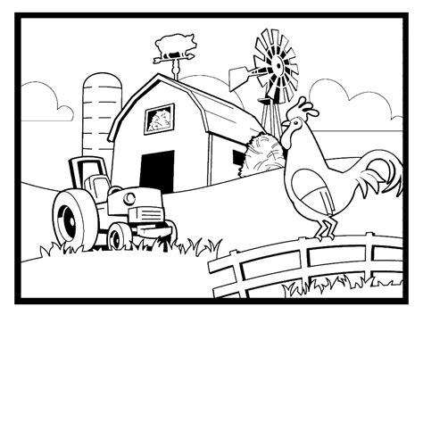 Dibujos Para Pintar De Animales De Granja Dibujos Para Tree Farm Coloring Pages