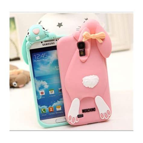 Moschino Samsung S5 carcasa divertida dise 241 o conejo 3d moschino samsung galaxy s5