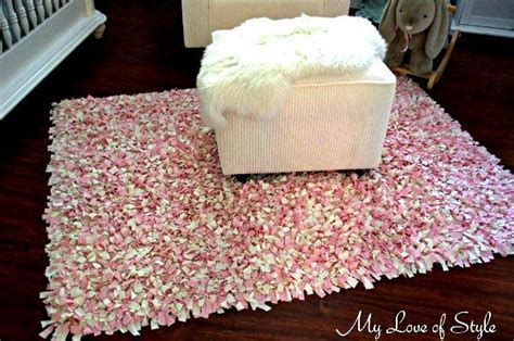 how to make shaggy rag rugs diy shag rag rug tutorial my of style my of style