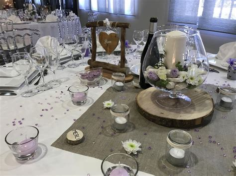 De La Table Décoration by Deco Table Mariage D Coration De Table Mariage En 28 Id