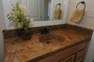 design granite countertops bathroom