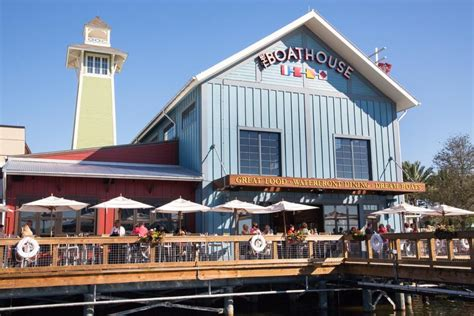 old boat house restaurant the boathouse at disney springs deliciousness on the docks
