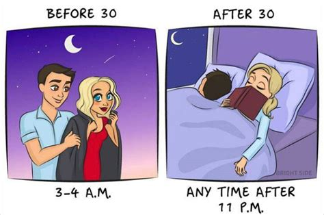Mba After 30 Years Of Age by Illustrations Show Before And After Age 30