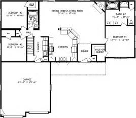 Kitchen Island Plan chestnut ranch modular home floor plans apex homes