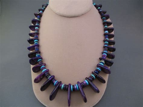 sugilite necklace by bruce eckhardt two grey