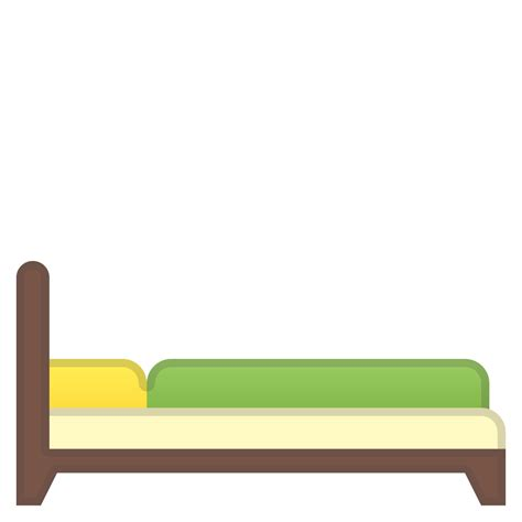 Bed Emoji by Bed Icon Noto Emoji Objects Iconset