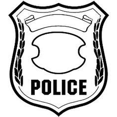 police badge template clipart best