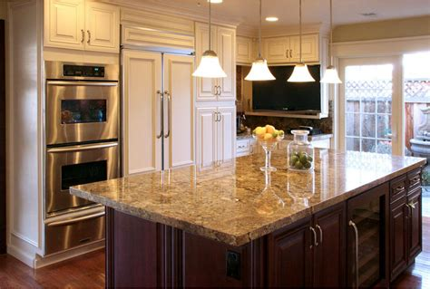 pictures of kitchens with cream cabinets cream maple glaze kitchen cabinates photos pictures