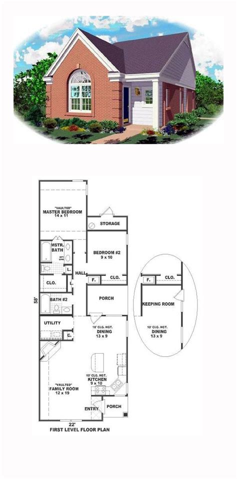 49 best images about narrow lot home plans on