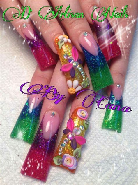 Duck Tip Nails Designs