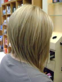 inverted shoulder length bob haircut long bob haircuts back view