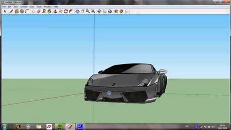 google sketchup car tutorial lamborghini gallardo google sketchup youtube