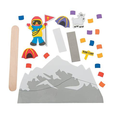 mountain crafts for mountain climber pop up craft kit trading