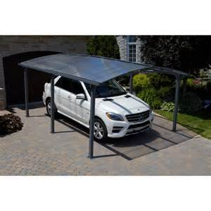 Portable Car Cover Costco Acay All Season Carport With Gutter
