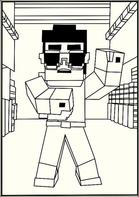 minecraft coloring pictures minecraft coloring pages