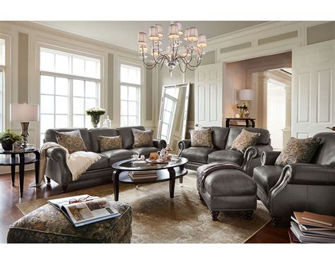Leather Living Room Furniture American Signature Furniture American Signature Living Room Furniture