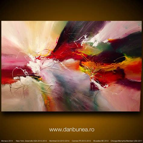 abstract for sale large abstract painting by dan bunea