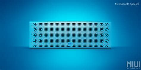 Speaker Aktif Bluetooth Xiaomi xiaomi mi speaker un altavoz bluetooth de metal con un precio de 28 gizchina es gizchina es
