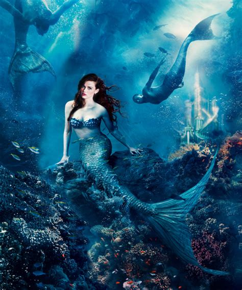once upon a time version ariel in once upon a time version 2 by gazdy on deviantart