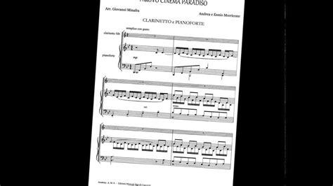 il clarinetto testo spartiti per clarinetto e pianoforte in pdf