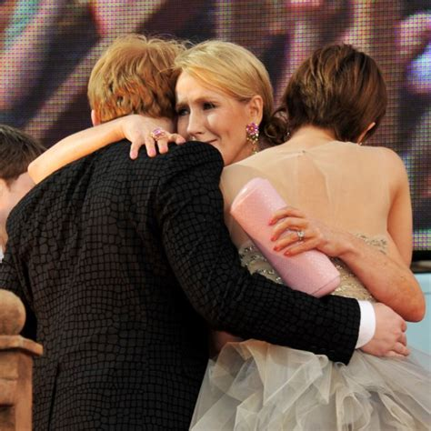 emma watson jk rowling harry potter and the deathly hallows part 2 premiere