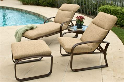 Mhc Outdoor Living Patio Furniture Chairs With Ottomans