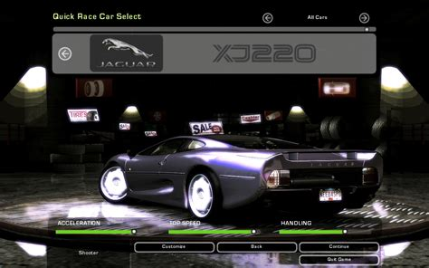 need for speed jaguar need for speed underground 2 jaguar xj220 nfscars
