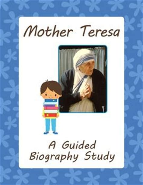 biography mother teresa pdf mother teresa a guided biography study creative