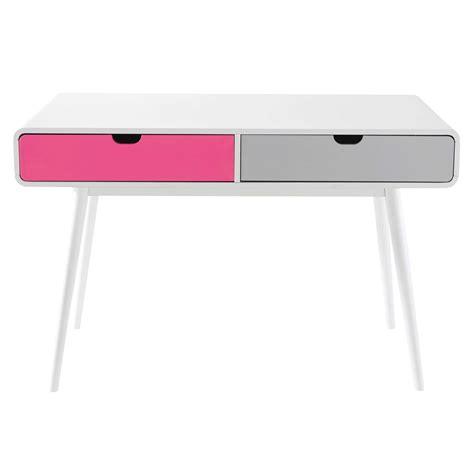 white vintage desks vintage desk in white beverly maisons du monde